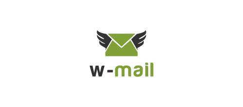 w-mail logo