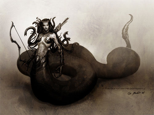Medusa artworks