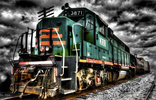 Train Storm