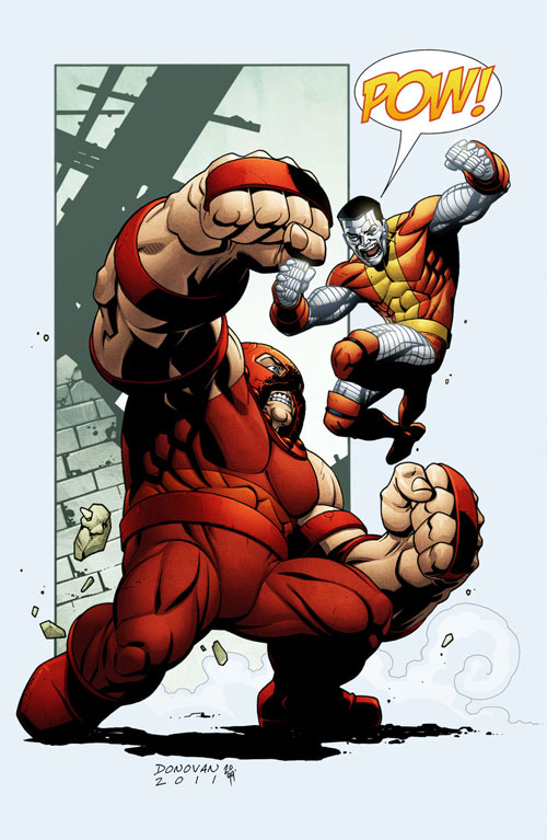 Juggernaut vs Colossus