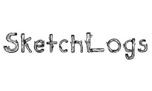 Sketch Logs font