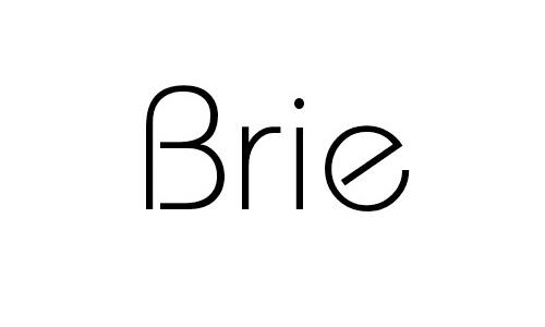 Brie font