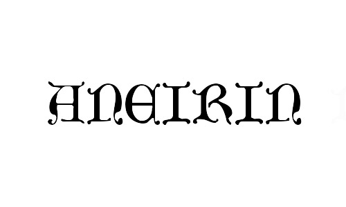 aneirin celtic fonts