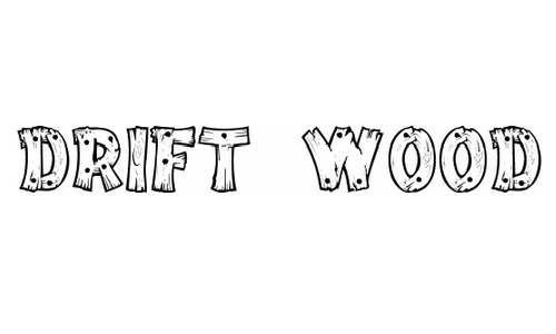 Drift Wood font