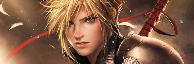 22 Cloud Strife Illustration Artworks