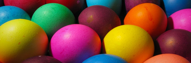 30 Brightly Colored Easter Wallpapers for Free