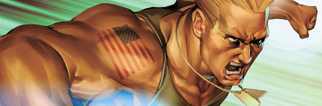 22 Guile of Street Fighter Artworks