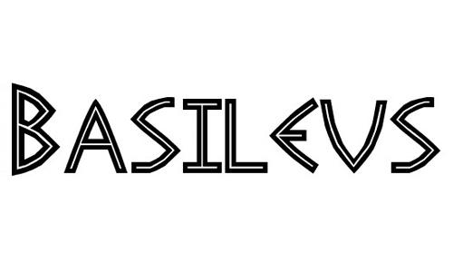 Basileus font