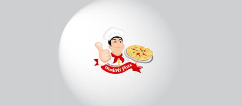 Dimitris Pizza logo