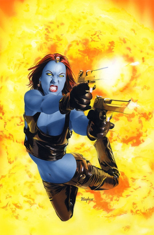 Mystique 12 Cover Painting