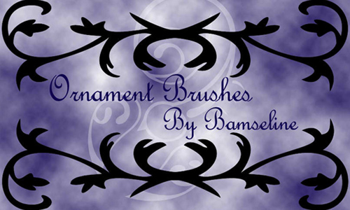 Ornament brushes