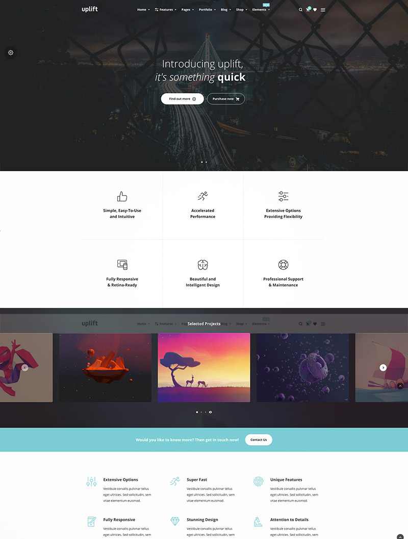 multipurpose themes responsive