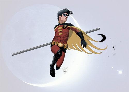 Robin in COLORS