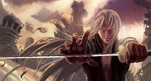 Sephiroth Fanart: Dawn