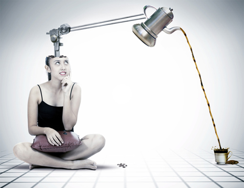 Photo Manipulate a Surreal Coffee Machine Contraption