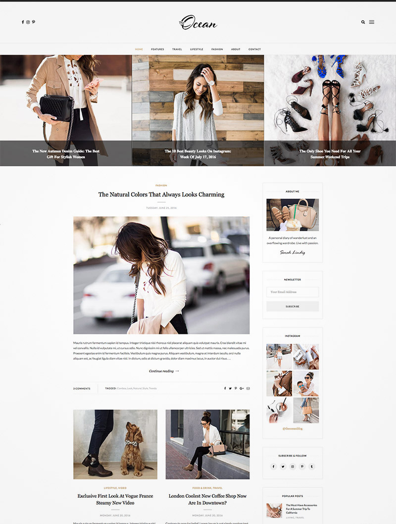 exquisite wordpress blog
