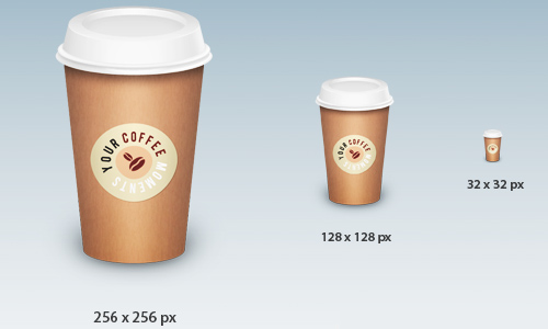 Coffee Cup Icons - Free