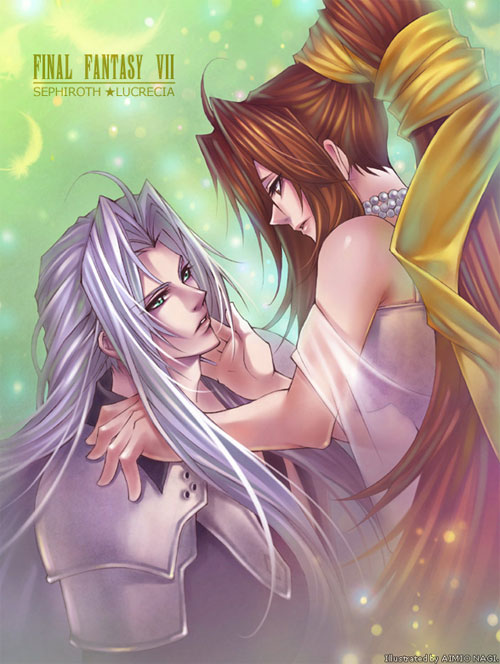 Lucrecia and Sephiroth...2