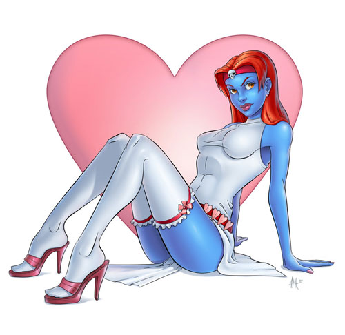 A Valentine from Mystique