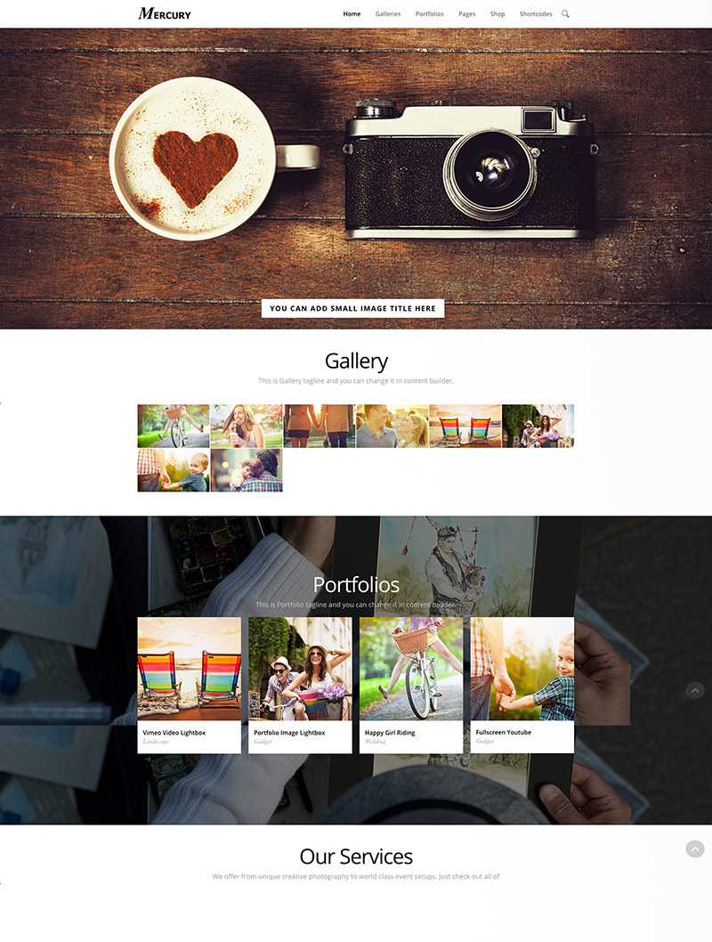 portfoliko photography themes