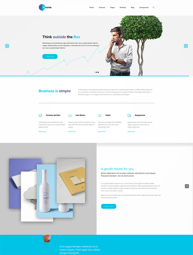 premium business themes