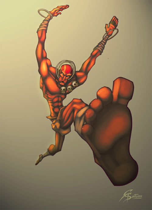 Dhalsim Street Fighter Tribute