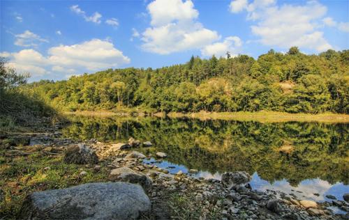 Drina river