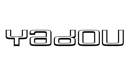 Yadou font