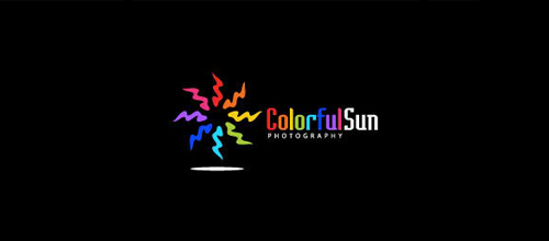 Colorful Sun logo