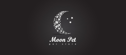 moon pet logo