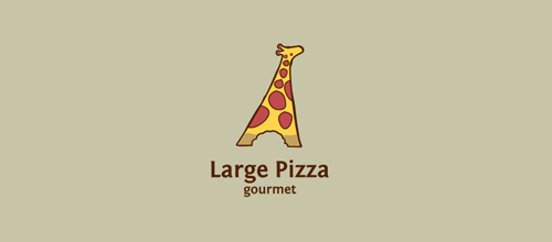 Large Pizza logo