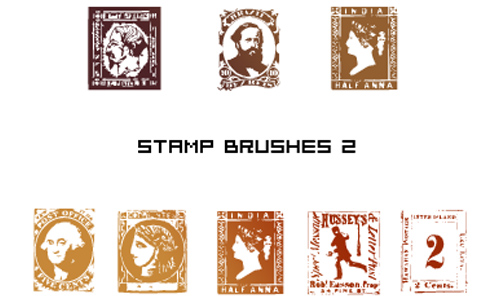 Stamp brushes for PS 6
