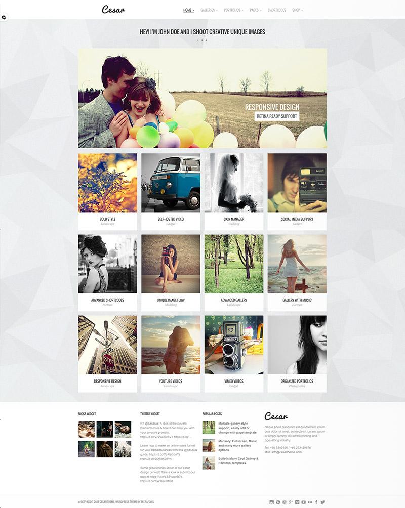 gallery portfolio templates