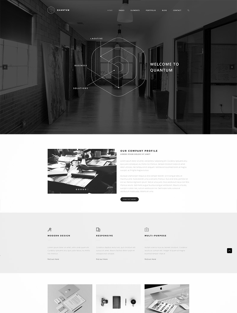 service website themes