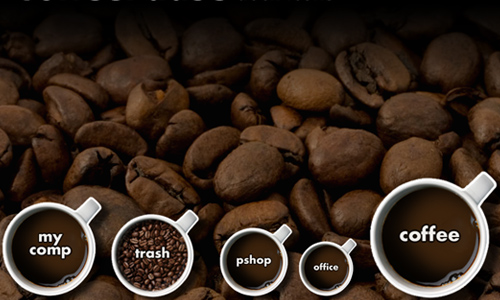 CoffeePause dock icons
