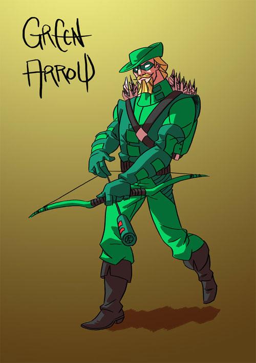 Commission: Green Arrow