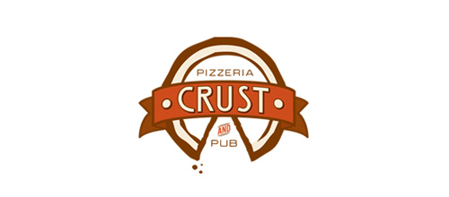 Crust Pizza 6 logo