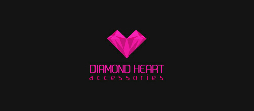 Diamond Heart logo