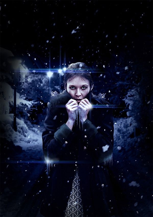 How to Create This Freezing Cold Portrait Photo Manipulation in Photoshop