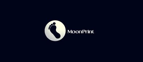 Moon Print logo