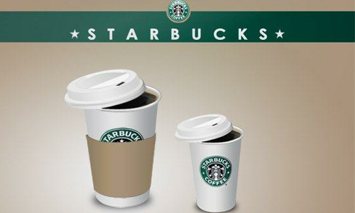 Starbucks coffee icons