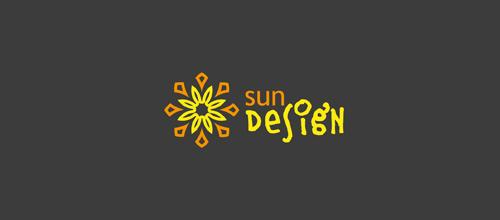 sun design logo