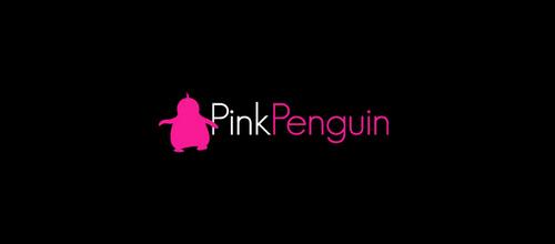 Pink Penguin logo