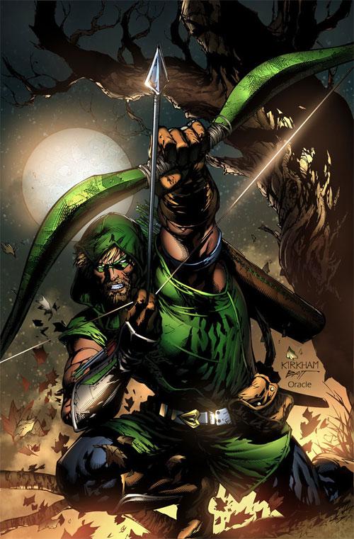 Tyler Kirkham Green Arrow
