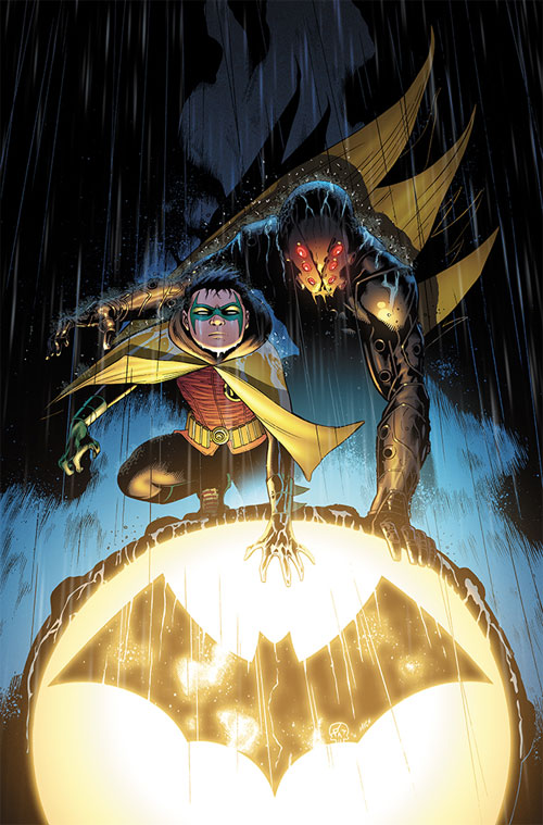 Batman and Robin 05 cover