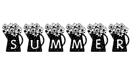 Summer's Country Coffee Pots font