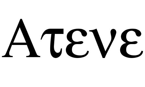 atene font