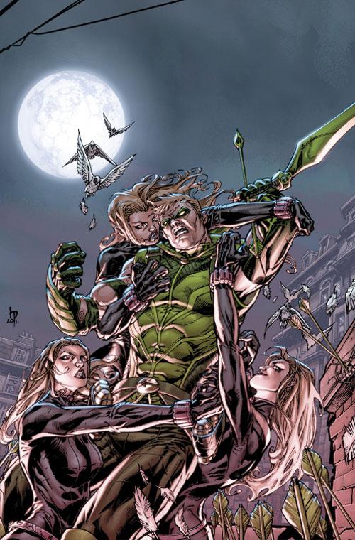 Green Arrow 7 Cover