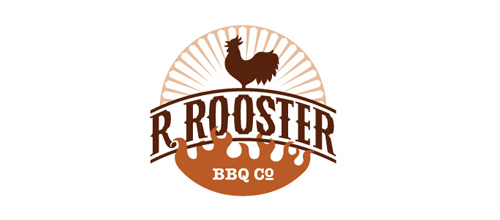R. Rooster BBQ Co. Final Logo