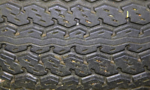 Detailed Tire Texture